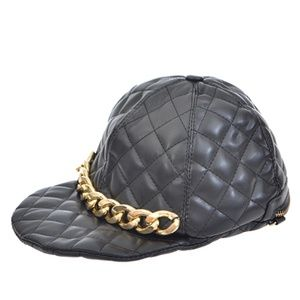 New Quilted chain hat clutch bag